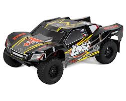 Losi Tenacity SCT RTR 1/10 4WD Short Course Truck (Black/Yellow ...
