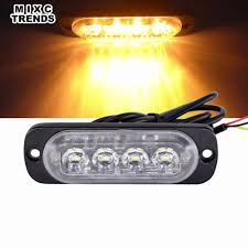 100 Strobe Light For Trucks Detail Feedback Questions About 1Pcs 4 Led Warning