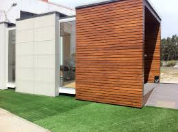 moodular structure ideas for cladding the breeze block shed a