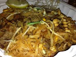 Pad thai beef Picture of Junjira Fresh Thai Kitchen Captain