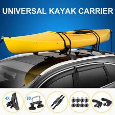100 Canoe Racks For Trucks Universal Kayak Rack Holder Kayak Carrier Saddle Watercraft Roof