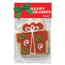 Decorated Shortbread Cookies by Decorated Shortbread Cookie In Header Bag Gingerbread Man