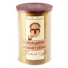 Where To Buy Turkish Coffee Turk Kahvesi Kuru Kahveci Mehmet Efendi Canada United States