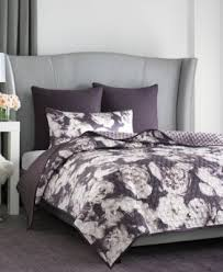 vince camuto home photo real floral queen printed coverlet