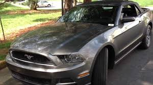 2013 Ford Mustang Convertible Review Walk Around Start Up & Rev
