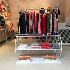 Creative Display Racks Hangers Clothing Store Shelves Showcase Flow Platform Shoe Rack
