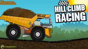 Hill Climb Racing - BELAZ (Create Car) Dump Truck - YouTube