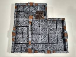 3d Dungeon Tiles Kickstarter by True Tiles Sample Set By Curufin Thingiverse