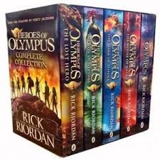 Heroes Of Olympus Complete Collection 5 Book Slipcase