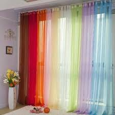 Searsca Sheer Curtains by Scenario Voile Tab Top Panels Curtains U0026 Drapes Brylanehome