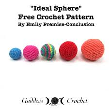 Amigurumi Ball Free Crochet Pattern Review Goddess Crochet