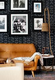 tapeten im wohnzimmer erfreuen sich frischer lebendigkeit