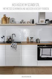 ikea küche im skandinavischen stil mit metod und voxtorp