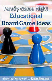 Educational Board Game Ideas For Family Night