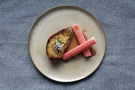rhabarber der perfekte spinat und foie gras begleiter