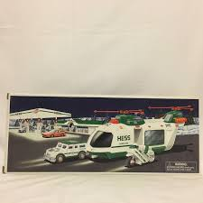 2001 Hess Toy Truck Helicopter With Motorcycle And Cruiser S5826 | EBay