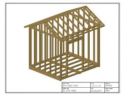 8x10 Shed Plans Materials List Free by 8x10 Shed Plans Free