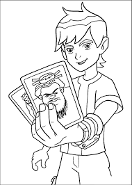 Ben Coloring Pages Make A Photo Gallery 10