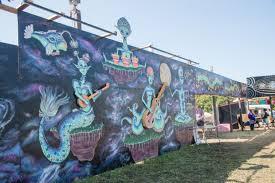 Kurt Vile Mural Philadelphia by 56 Scenes From The 56th Annual Philadelphia Folk Festival The Key
