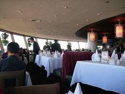 inside the revolving restaurant picture of skylon tower niagara