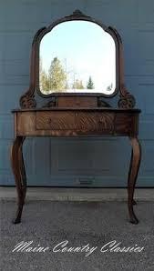 Tiger Oak Serpentine Dresser by Early 1900s Serpentine Tiger Oak 4 Drawer Dresser After