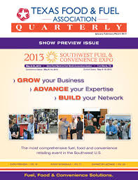 Gilbarco Veeder Root Help Desk by Texas Food And Fuel Association Quarterly January February 2013 By