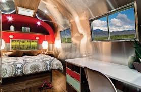 100 Refurbished Airstream Renovated Into Midcentury Modern Dream Curbed