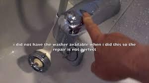 Delta Tub Faucet Leaking From Spout by Repair Delta Rp 48718 Tub Spout Diverter Leak Youtube