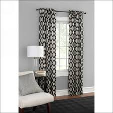 interiors wonderful door curtain rod walmart kitchen curtains