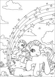 Rainbow Coloring Page Pictures Of Rainbows Pink Fluffy Unicorns Dancing Pages Kids On