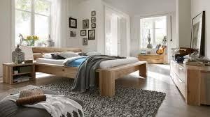 schlafzimmer kompletteinrichtung bett kommoden eiche massiv rustikal geölt lanatura