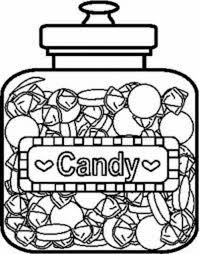 Candy Coloring Pages Getcoloringpages Com