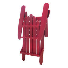 Exclusive Folding Wood Adirondack Chair - Painted Red|Essentials By ... Adirondack Chair Outdoor Fniture Wood Pnic Garden Beach Christopher Knight Home 296698 Denise Austin Milan Brown Al Poly Foldrecling 12 Most Desired Chairs In 2018 Grass Ottoman Folding With Pullout Foot Rest Fsc Combo Dfohome Ridgeline Solid Reviews Joss Main Acacia Patio By Walker Edison Dark Wooden W Cup Outer Banks Grain Ingrated Footrest Build Using Veritas Plans Youtube