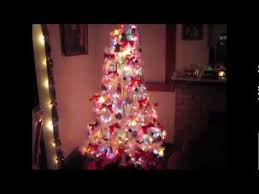 white artificial trees will add to your