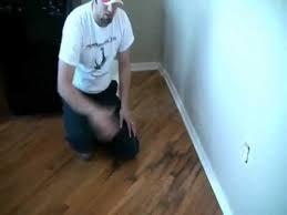 Buffing Hardwood Floors Youtube by Hardwood Floor Repair Water Damage U2013 Flooring Ideas