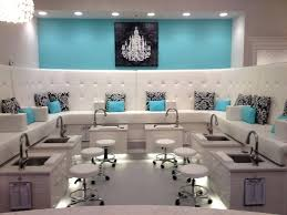 Salon Design Ideas Stunning Nail Interior Pictures Decorating Awesome