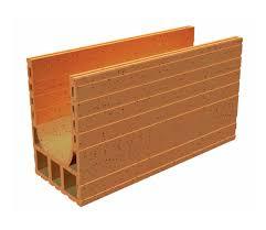 coffre demi linteau terreal brique linteau construction maison béton armé