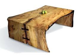 slab wood coffee table u2013 thelt co