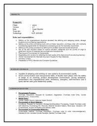 SAP MM Sample Resume