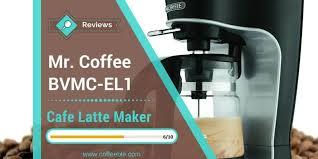 Mr Coffee BVMC EL1 Cafe Latte Maker Review