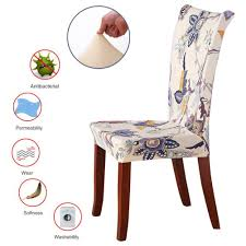 Amazon.com: ColorBird Flower Series Spandex Fabric Chair ... Xiazuo Ding Chair Slipcovers Stretch Removable Covers Set Of 6 Washable Protector For Room Hotel Banquet Ceremonywedding Subrtex Sets Fniture Armchair Elastic Parsons Seat Case Restaurant Breathtaking Your Home Idea How To Sew A Slipcover The Ikea Henriksdal Hong Elegant Spandex Chairs Office Grey 4 Chun Yi Waterproof Jacquard Polyester Small Checks Antistain 2 Linen Store Luxurious Damask Cover Form Fitting Soft Parson Clothman Printed High Elasticity Fashion Plaid Kitchen 4coffee Subrtex Dyed Pieces Camel Leanking Knit Fabric Decor Beige Pcs Leaf Stretchable 1 Piece Yellow