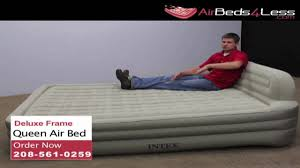 Intex Kidz Travel Bed by Queen Air Bed Youtube