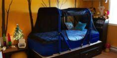 the safety sleeper bed tent option completely encloses the