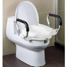 rehausseur siege wc hestec réhausseur wc avec accoudoirs achat vente abattant wc