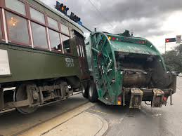 100 Garbage Truck Accident Meghan Kee Truck Vs Street Car Accident On