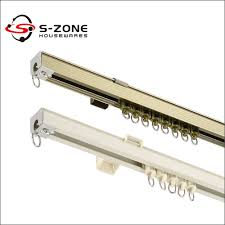 Ceiling Mount Curtain Track by Window Drapery Aluminum Track Ceiling Mount Curtain Rail System