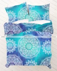 bedroom wonderful pattern bedding design ideas with hippie duvet