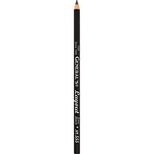 Generals Layout Pencil - Extra Black, Large