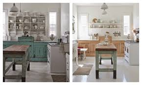 Contemporary Rustic Chic Kitchens On Kitchen Pertaining To Modern Makeover White Before And After 13