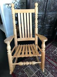 Large Wooden Rocking Chair – Joeclark.co